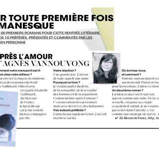 Madame Figaro, août 2013