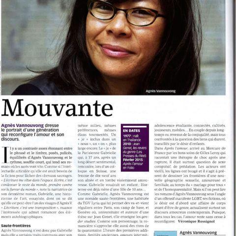 Livres Hebdo, janvier 2015